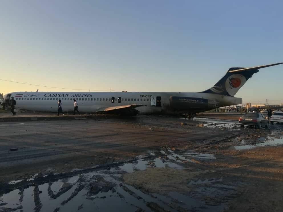 هواپیمای شرکت کاسپین که از تهران به مقصد ماهشهر فرودگاه مهرآباد را ترک کرده بود پس از فرود در فرودگاه بندر ماهشهر از باند فرود خارج شد و دچار حادثه شد. خوشبختانه در این حادثه به مسافران هواپیما آسیبی نرسیده است.