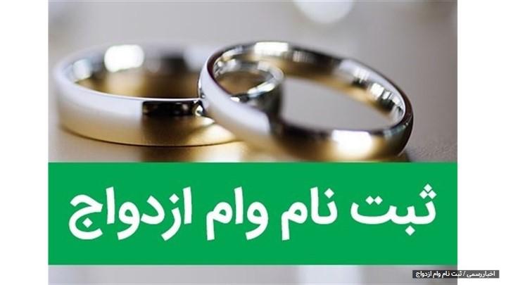 امروز میزان وام ازدواج ۵۰ میلیون تومان اعلام گردید بر این اساس به هریک از زوجین مبلغ 50 میلیون و جمعا 100 میلیون تومان وام تعلق خواهد گرفت.