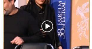 ریحانه پارسا در جشنواره فیلم فجر در خصوص فیلم خوب بد جلف ۲ حاضر شد و موضوع جالب در خصوص ریحانه پارسا حرکات عجیب او در حین جلسه نقد و بررسی بود