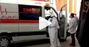 بر اساس فیلم منتشر شده در خبرگزاری عصر جنوب یک آمبولانس همراه پرستارانی که پوشش های ویژه برای جلوگیری و مبارزه با ویروس کرونا را داشته اند در حال حمل و انتقال یک بیمار به بیمارستان رازی مشاهده شده اند.