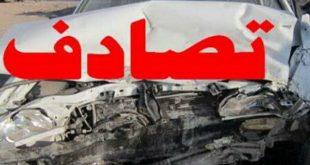 مدیر حوادث و فوریت های پزشکی دانشگاه علوم پزشکی شیراز: تصادف زنجیره ای 6خودرو (پراید-سمند-پژو206-پژو پارس-هیوندا-تیوفایو) امشب در شیراز میدان معلم به سمت فرهنگ شهر 9مصدوم بر جا گذاشت.