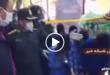 سارقان موبایل فروشی در اسلامشهر که صاحب این مغازه را به وسیله چاقو بصورت دلخراشی به قتل رسانده بودند به محل قتل برده شدند