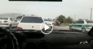 مامورین ناجا در حین انجام وظیفه و کنترل ورود و خروج ماشین ها به شهرستان دهلران مورد حمله افرادی ناشناس قرار گرفتند