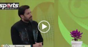 در یک گفتگوی تلویزیونی امیر حسین صادقی با یک حمله تند به وزیر ورزش از او به خاطر نگاه جانب دارانه به تیم پرسپولیس انتقاد کرد،او رقیب استقلال را مدیریت دانست.