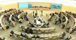 دیروز در چهل و سومین اجلاس شورای حقوق بشر سازمان ملل متحد تمامی نمایندگان کشورهای مختلف شرکت کننده در این اجلاس با یک دقیقه سکوت نسبت به درگذشتگان ویروس کرونا در ایران ادای احترام کردند