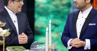 احسان علیخانی به همراه رضا رشیدپور در یک ویژه برنامه نوروزی در لحظه تحویل سال ۱۳۹۹ از شبکه سوم سیما مهمان خانه های ایرانیان خواهند شد