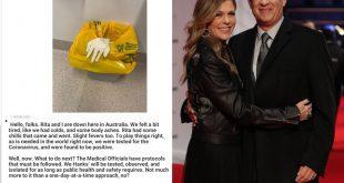 « تام هنکس » بازیگر ۶۳ ساله آمریکایی برنده جایزه اسکار و همسرش «ریتا ویلسون » در سفر به استرالیا برای بازی در فیلم جدیدش به سر می برند.تام هنکس در صفحه شخصی اش اعلام کرد که تست کرونایش مثبت شده است.