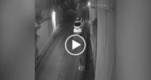 سرعت بالا و عدم توانایی کنترل ماشین حمل زباله توسط راننده آن در محله نیاوران حادثه آفرید،فیلم حادثه توسط دوربین مدار بسته ضبط شده است.