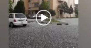 با ورود سامانه بارشی از سمت غرب و شمال غرب در دو روز گذشته شاهد افزایش بارندگی در این مناطق بوده ایم،امروز بارش شدید تگرگ در شهریار تهران همه را غافلگیر کرد