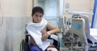 جهادگر سلامت نوجوان 13 ساله محمد حسن عسگری دچار نقص عضو شد ،وی در حالی که با پدرش بصورت داوطلبانه و با تراکتور شخصی در چند شب گذشته درحال ضدعفونی کردن معابر یکی از شهرستانهای استان بود