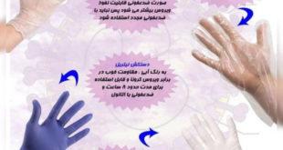 استفاده از دستکش ها و ماسک های استاندارد برای پیشگیری و مقابله در برابر انواع ویروس ها و بیماری ها می تواند یکی از راهکارهای موثر باشد