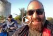 علی اوجی هنرمند و استندآپ کمدین خوب ایرانی یک ویدئو از موتور سواری خود با احسان خواجه امیری در جزیره کیش منتشر کرد