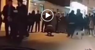 شب گذشته در هنگام برگزاری جشن نیمه شعبان خبرنگار لوشانی در حین تهیه گزارش از این جشن دچار حادثه گردید
