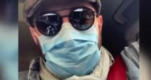 بهرام رادان بازیگر معروف سینما و تلویزیون از یک روش خاص برای بیرون رفتن از خانه استفاده کرده و در صفحه شخصی خود به همه توصیه کرد که بهداشت عمومی را رعایت کنند