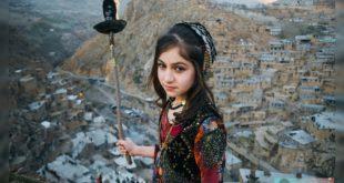 تصویر یک دختر کرد در روستای پلنگان کردستان به عنوان سومین تصویر برگزیده سال 2019 میلادی از سوی سایت ویکی پدیا انتخاب شد