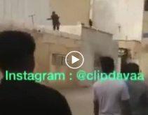 یک زندانی فراری در بوشهر توسط مردم و اهالی خیابان هجرت از روی پشت بام منازل دستگیر و تحویل ماموران انتظامی شد