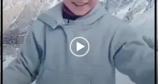 فیلم رقص پسر بچه پاکستانی در ارتفاعات این کشور که پوشیده از برف می باشد در دوران انتشار بیماری کرونا در سطح وسیعی در فضای مجازی مورد استقبال قرار گرفت