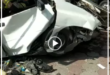 برخورد سواری پراید با جدول در سه راه ورامین شهرری که به علت سرعت بالا و عدم کنترل راننده خودرو رخ داد باعث متلاشی شدن این وسیله نقلیه شد