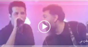 تیزر کنسرت آنلاین حمید عسگری که علی انصاریان به صورت نمادین و گیتاریست در آن حضور دارد در فضای مجازی منتشر شد