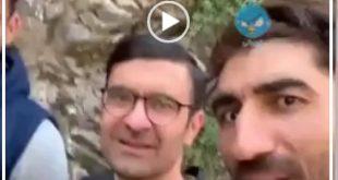 علیرضا بیرانوند در یک پست جدید در صفحه شخصی اش فیلمی از تفریح و راهپیمایی خود و دیگر بازیکنان فوتبال را منتشر کرد
