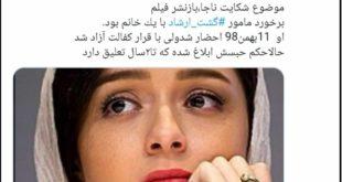 به گزارش خبرنگار روزنامه شرق ترانه علیدوستی بازیگر و هنرپیشه سینما و تلویزیون به اتهام توهین به «نیروی انتظامی» درنهایت به ۵ ماه زندان محکوم شد
