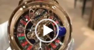 انتشار فیلمی از یک ساعت خاص و ظریف که به صورت مخصوص برای کریستین رونالدو ساخته شده چشمان طرفداران مد و کالاهای لوکس را به خود خیره کرد