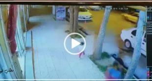 یک کودک در سمیرم که به علت بی احتیاطی والدینش به صورت ناگهانی وارد خیابان می شود توسط یک فروشنده از یک حادثه دلخراش نجات داده شد