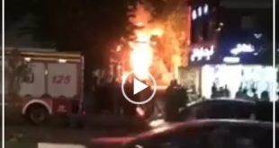 بر اثر یک انفجار مهیب در کلینک سینا به علت آتش گرفتن کپسول های اکسیژن در طبقه منفی ۲ بیش از ۲۰ نفر کشته و زخمی شدند