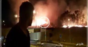 براساس ویدئو منتشر شده یک آتش سوزی در پارک چیتگر تهران به وقوع پیوسته است و نیروهای آتش نشانی برای اطفای حریق به محل آتش سوزی اعزام شدند