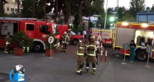 بخشی از بیمارستان شریعتی تهران بامداد سهشنبه دچار آتشسوزی شد که با حضور نیروهای آتشنشانی این حریق مهار شد.