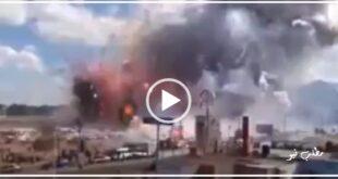 تصاویر پخش شده از شبکه خبر و یورونیوز حاکی از انفجاری مهیب و هولناک در یک کارخانه فشفشه سازی در ترکیه با تعداد بیش از ۵۰ نفر مفقود می باشد