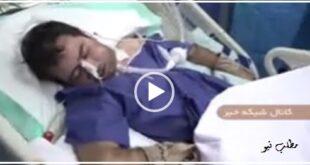 معاون وزیر بهداشت با حضور در یک بیمارستان از یک داماد که دو روز بعد از مراسم عروسی اش درگیر بیماری کرونا شده عیادت کرد