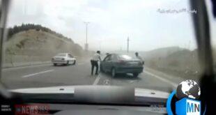 انتشار فیلم تعقیب و گریز ماموران آگاهی و سارقان مسلح بسیار مورد توجه قرار گرفته و در فضای مجازی دست به دست میشود