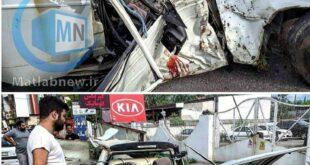 به گزارش خبرگزاری های داخلی بر اثر درگیری یک زوج جوان در داخل خودرو و انحراف ماشین و برخورد آن با یک درخت باعث یک حادثه دلخراش و منجر به مرگ شد