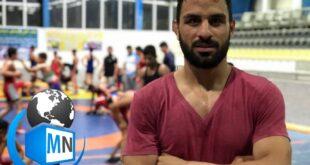 نوید افکاری یکی از کشتی گیران ایرانی است که در روزهای گذشته به علت صدور حکم محکومیت برای او بسیار مورد توجه قرار گرفته است
