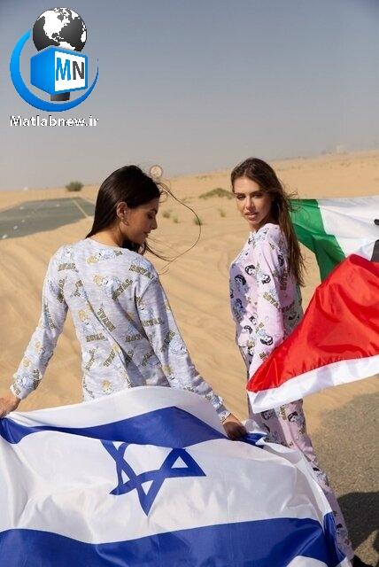 پس از اعلام عادی سازی روابط بین اسرائیل و امارات حضور مدل معروف اسرائیلی برای تبلیغ لباس خواب در این کشور به یک جنجال بزرگی تبدیل شد