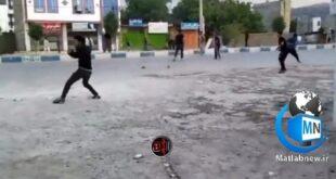 بر اساس فیلم منتشر شده در فضای مجازی دو گروه از جوانان در شهر یاسوج با پرتاب سنگ به سمت یکدیگر درگیر شدند