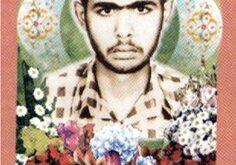 شهید سرافراز محمدرضا آل مبارک در سن ۱۶ سالگی در محرم سال ۱۳۶۱ در منطقه عملیاتی به درجه رفیع شهادت نائل شد