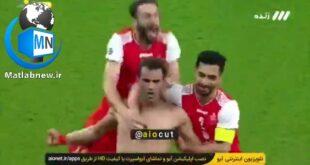 علت سانسور شدن این صحنه لخت شدن آلکثیر بعد از به ثمر رساندن گل تیم پرسپولیس بود