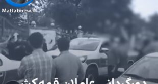 امروز پلیس شهر رشت ارازل اوباشی که در بیمارستان پورسینای این شهر قمه کشی کرده و باعث ایجاد رعب و وحشت گردیده بودند را دور گردانی کرد