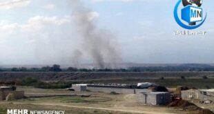 درگیری های مرزی دو کشور همسایه ارمنستان و آذربایجان بر سر منطقه قره باغ باعث اصابت خمپاره های جنگی به داخل مرزهای ایران شد