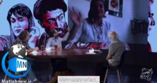 عوامل فیلم (گیلدا) مهمان برنامه تلویزیونی کافه آپارات با اجرای فریدون جیرانی شدند