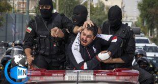 به گزارش خبرگزاری تسنیم شرور معروف محله مشیریه تهران پس از شناسایی دستگیری و خیابان گردانی شد