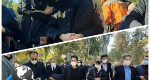 مراسم خاکسپاری استاد محمدرضا شجریان با حضور انبوهی از دوستداران و خانواده او برگزار گردید و پیکر این استاد گرانقدر در کنار آرامگاه فردوسی در شهر توس آرام گرفت