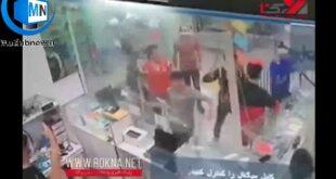 یک فیلم تاسف بار از اراذل و اوباش و حمله وحشیانه آنها که از یک پاساژ در گلستان از یک دوربین مدار بسته گرفته شده است در فضای مجازی منتشر شد