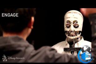 اولین ربات انسان نما با قابلیت ارتباط چشمی با انسان توسط شرکت دیزنی ساخته شد،ربات های ساخته شده پیش از این چنینی قابلیتی را دارا نمی باشند