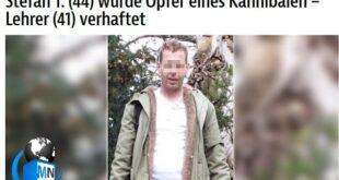 جزئیات دستگیری یک آدمخوار که مظنون به قتل یک مرد ۴۴ ساله در برلین در کشور آلمان است به تیتر اول خبرگزاری های این کشور تبدیل شد