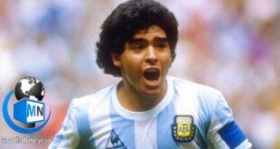 در یک خبر فوری (دیگو مارادونا) ستاره و اسطوره فوتبال آرژانتین بر اثر حمله قلبی ساعتی پیش در سن ۶۰ سالگی درگذشت