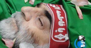 اولین تصاویر از پیکر مطهر محسن فخری زاده شهید هسته ای ایران با حضور خانواده و رئیس قوه قضاییه منتشر شد