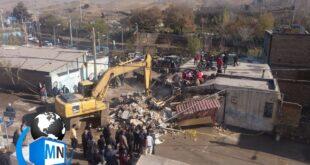 متاسفانه در یک حادثه دلخراش صبح امروز بر اثر برخورد یک کامیون با یک منزل مسکونی در پردیس تهران پنج نفر کشته و زخمی شدند